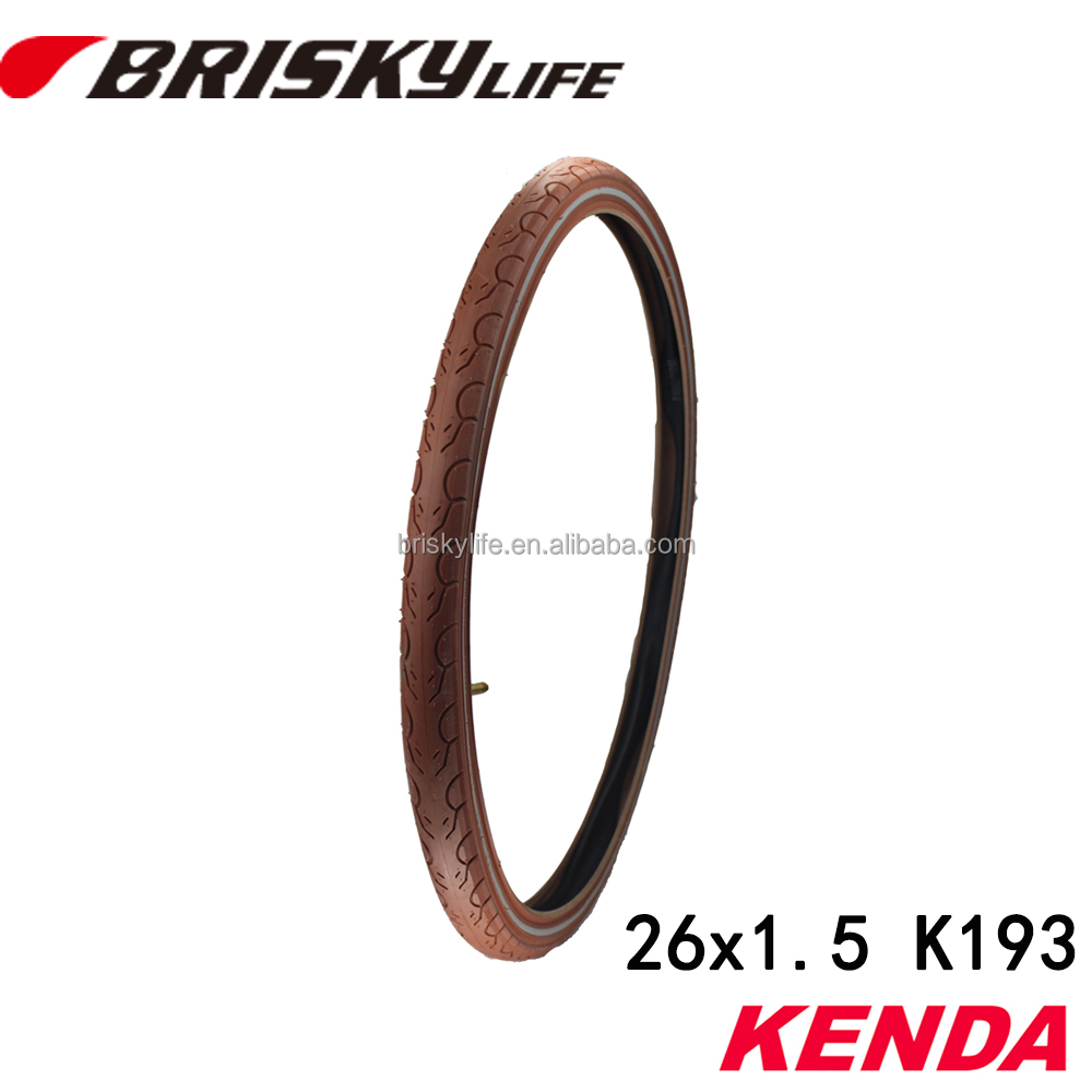 High quality new style brown color e- bike tires