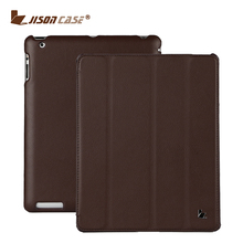 Jisoncase Different colors available smart cover tablet cover leather case for ipad 4