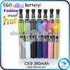 Newest and Best quality sigarette elettroniche ego ce9 atomizer