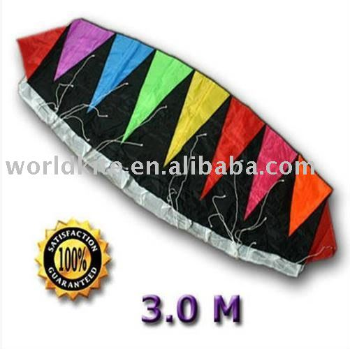 3 m DUAL LINE Power Foil Stunt Sports Kite