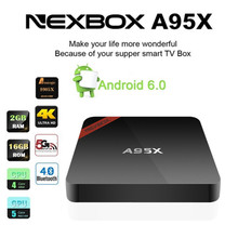 s905x Android Smart 4K TV Box Quad Core Media Player Free Movies a95x stream tv box