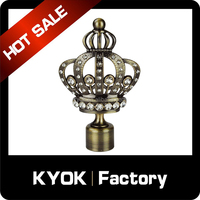Popular Design Muslim Curtain Rod Finials