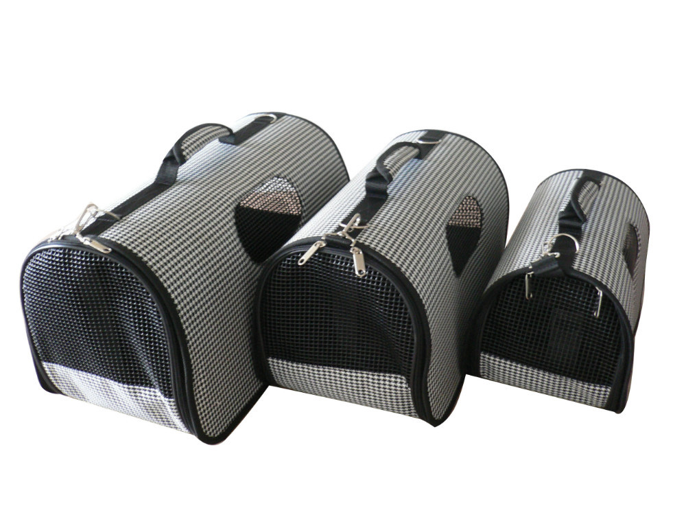 New arrival foldable pet dog cat carrier 600D polyester with PVC coating