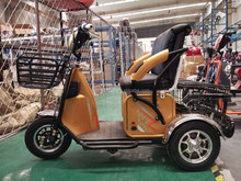 Electric trike with Cargo basket 3 wheeler electric tricycle /adult electric tricycle