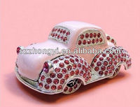 Hot Metal Car Model With Diamond