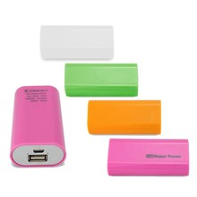 Various Candy Colors 3600mah Portable Power Bank for Mobile Phone
