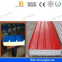 Two Component white glue construction adhesive for EPS sandwich panel