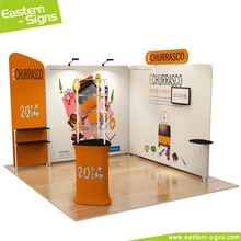 Custom made aluminum full color printing advertising indoor cost effective invitation exhibition booth