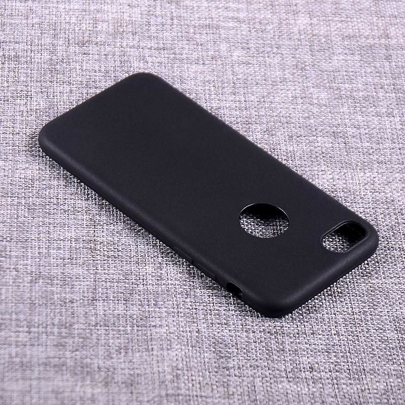 Matt finish TPU back cover case for iphone7 soft case