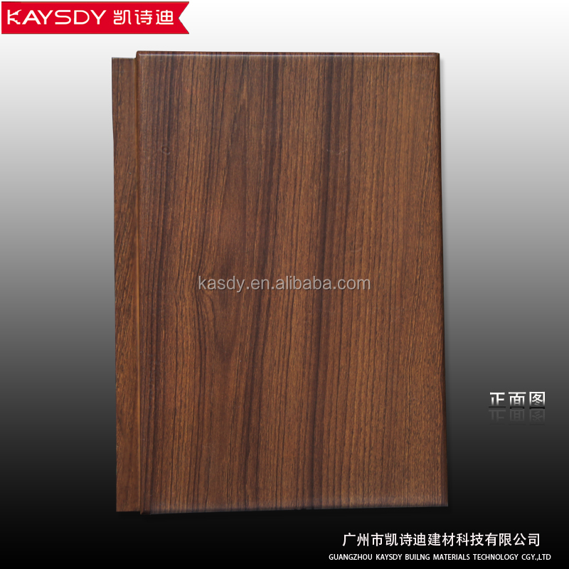 construction wood grain building materials aluminum hook on ceiling