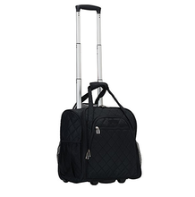 Wheeled Underseat Carry On Luggage with In-Line Wheels