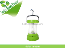 High power 2w intergrated LED light portable solar lantern light with CE,Rohs
