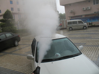 Anytime Anyplace Service Eco Friendly Steam Car Wash Machine