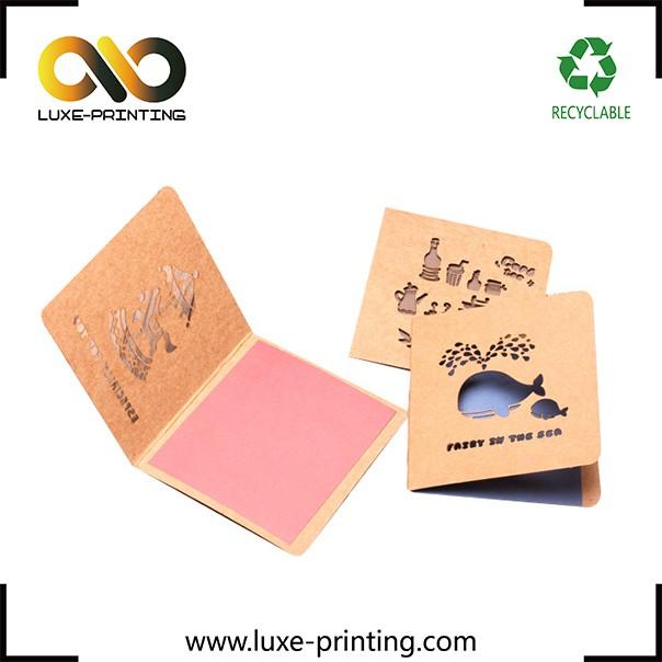 Folha de ouro carimbar preço popular 2 cor desenho livre do cartão do convite