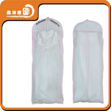 custom recycle fashion non woven wedding dress cover