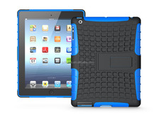 2016 China Wholesale, Hybrid Rugged Hard Case For iPad 3, 2 in1 Tablet Cover Case For iPad 3