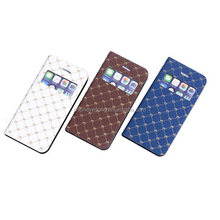 For iPhone 5/5s Crown flip leather phone case,newest design for iphone 5/5s case