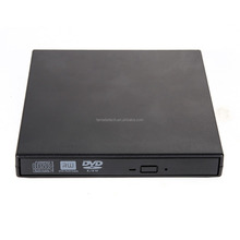 New Hot Sale External Black CD RW,DVD RW,DVDRW,Slim 8x DL USB laptop slim dvd writer External DVD Burner Drive All PC High Quali