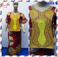 Bazin African dress hot fashion cl4202 bazin/brocade women African clothing women dress wholesale