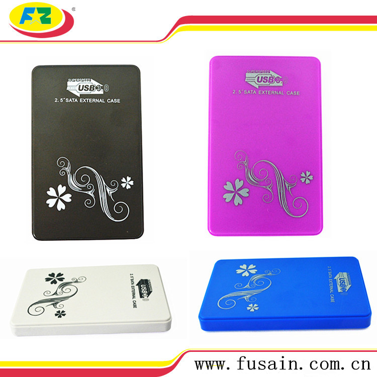 HDD Case 2.5 USB 3.0 Plastic HDD Drive Enclosure
