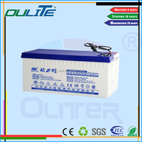POPULAR! Top quality good service solar wind battery wholesale solar batteries 6v200ah