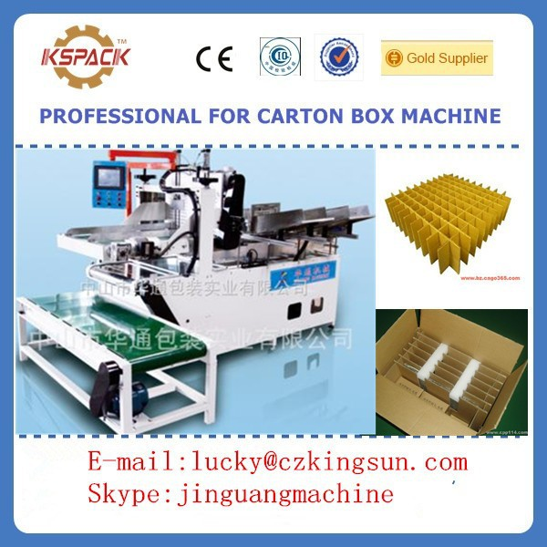 paperboard assembling machine /Automatic Assemble Cardboard Divide Machine for making corrugated cardboard