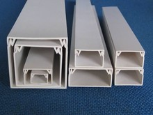Electrical Plastic Trunk Boxes Electrical 70Mm Plastic Pvc Square Pipe