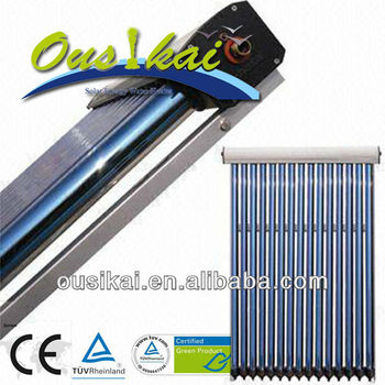 Ousikai 15tubes Solar Thermal Panel Collector, evacuated solar,solar water heater colector