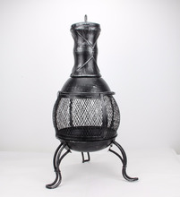 New Style Outdoor Cast Iron Chimney Fireplace