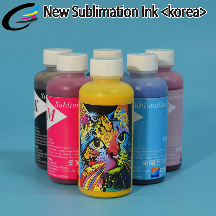 Korea Original Digital Inktec Dye Sublimation Ink For T-shirt Printing