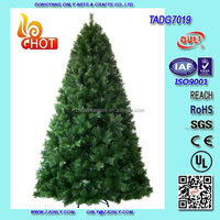 7FT 1900T Hinged Construction Green Grand Duchess Fir Giant Christmas Tree Wholesale