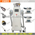 2016 Updated super freezing lipo Freezing lipolysis hifu cavita rf slimming machine