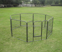 Strong Steel Metal Fence For Large Dogs