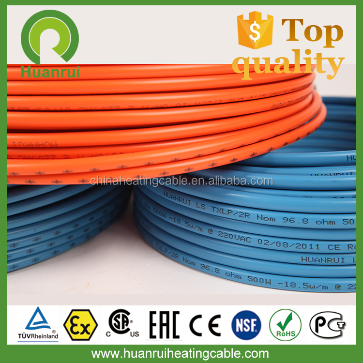 Electric Antiflaming High Temperature Self Regulating High Quality Roof And Gutter De-Icing Cable/Snow Melting Products /Roof De