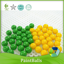 outdoor shooting paintballs