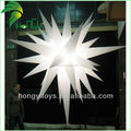 Customized Inflatable Star Shape LED Lighting Balloon For Festival Decoration