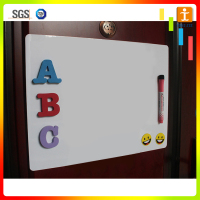 Magnetic whiteboard calendar dry erase blank fridge magnet