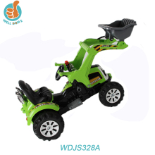 WDJS328A Toys Classic Electric Ride On Children Cars With Double Motor Tractor Battery 12v