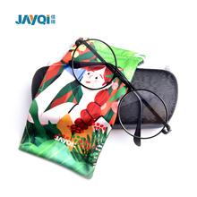 best seller plain microfiber 3d glasses pouch