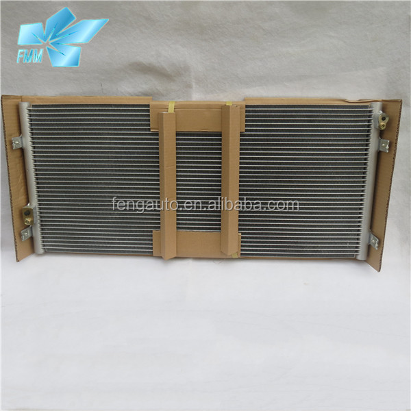 auto Aluminium ac condenser 778*340*20 for Hyundai county bus