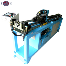Automatic round steel pipe hole punching machine