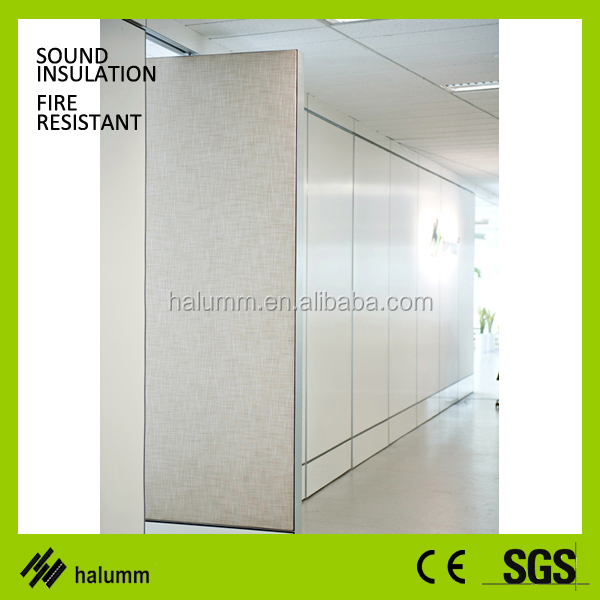 folding restaurant commercial movable sound proof partition wall