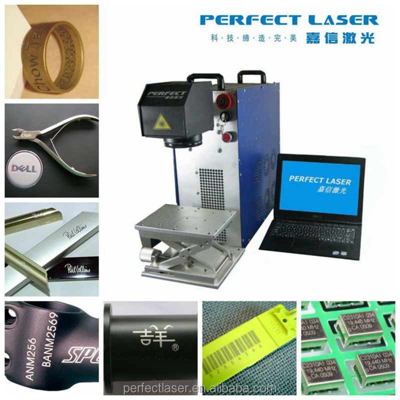 code/ Logo / date /numbers /metal /pen/ PVC / steel laser marking machine for carbon steel