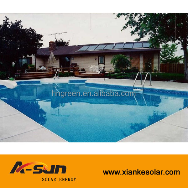 Ce keymark srcc heat pipe solar heater solar swimming pool Swimming pool water delivery service near me
