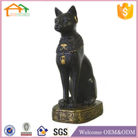 Factory Custom made best home decoration gift polyresin resin cat ornaments crafts