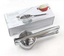 Latest Design High Quality Kitchen Tools Stainless Steel Potato Press Potato <strong>Rice</strong>