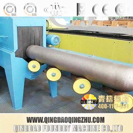 Rebar Rust Remover Machine,Steel Cylinder Shot Blasting Machine / Lpg Gas Cylinder Manufacturing Machine