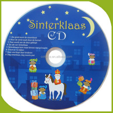 Muziek cd replicatie en brandende door Chinese disc makers