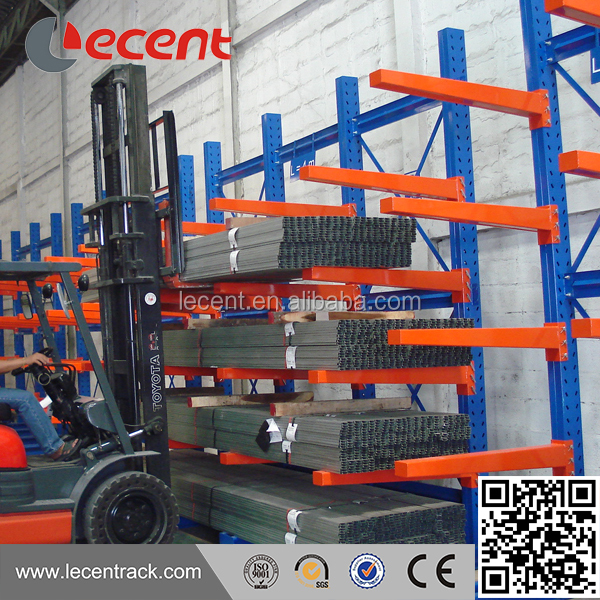 Long Lasting warehouse storage pipe rack cantilever arm rack