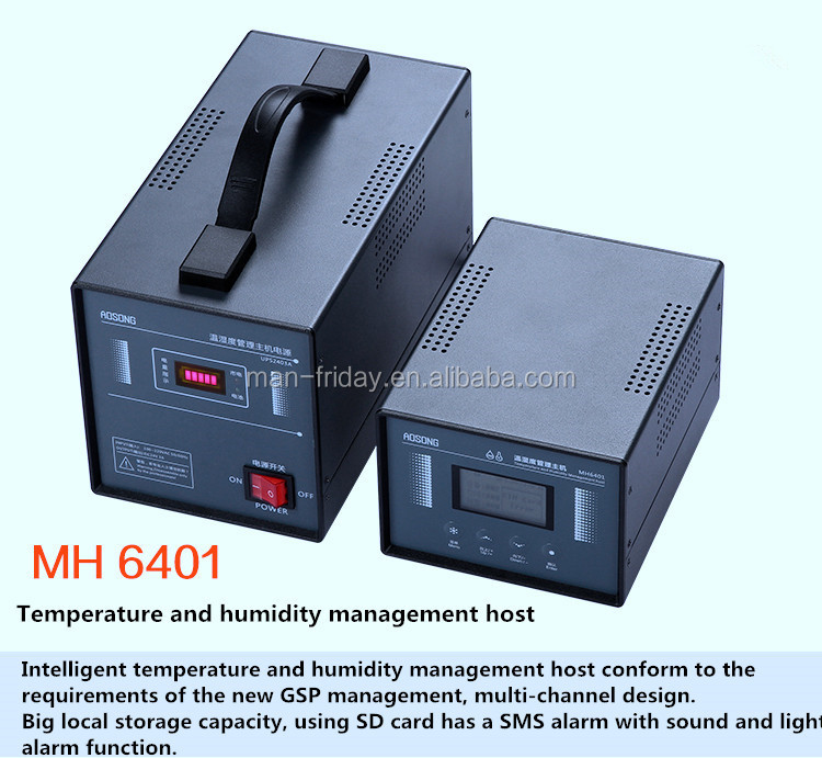 MH6401 Temperature and Humidity Management Host For Laboratory and Chemical